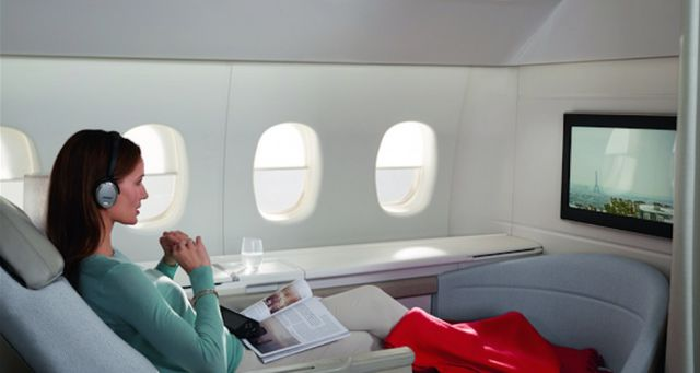 The Best First Class Travel Cabins in the World