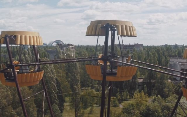 The Creepy Abandoned City of Chernobyl As Seen from a Drone