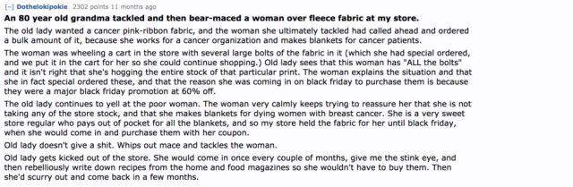 Black Friday Shopping Nightmares