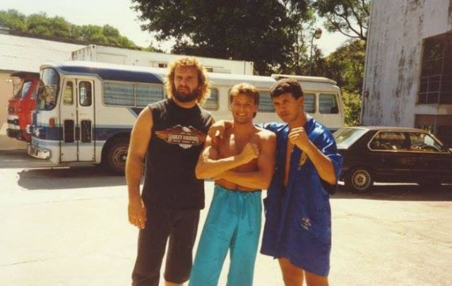 "Candid Set Photos from the Filming of ""Bloodsport"""