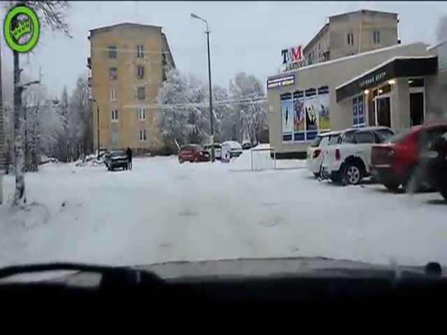 Meanwhile, in Russia...  (VIDEO)