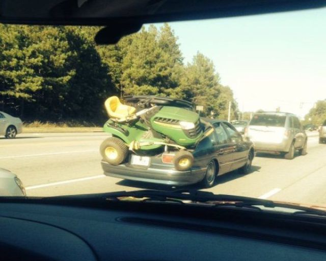 Probably Not the Best Choice of Transportation!