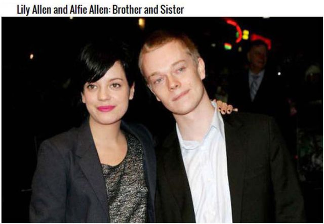 Surprising Stars Who Are Really Related