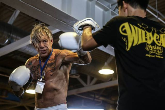 Mickey Rourke Still Kicks Ass at 62 Years Old