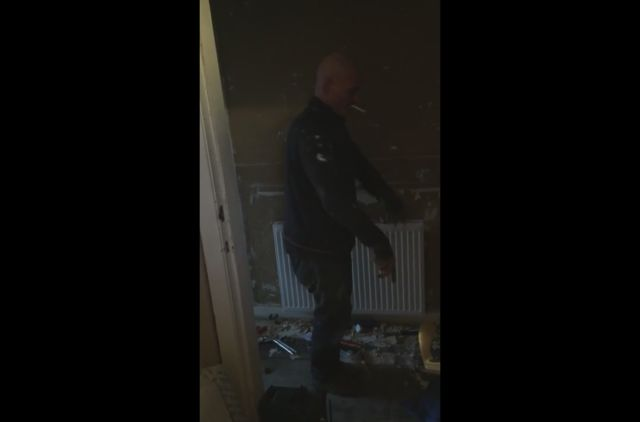 Plumber Caught Dancing Instead of Actually Working
