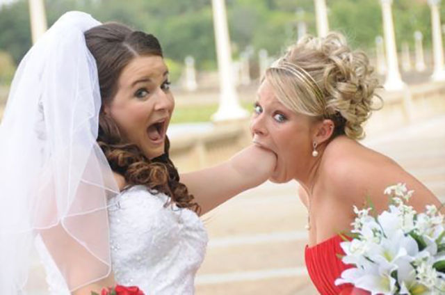 Weird and Wacky Wedding Fun Caught on Camera