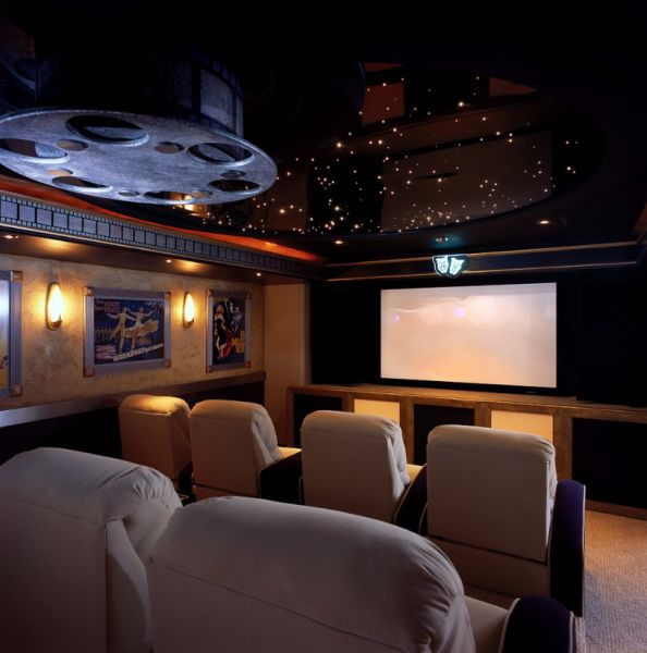 Awesome Private Home Theatres
