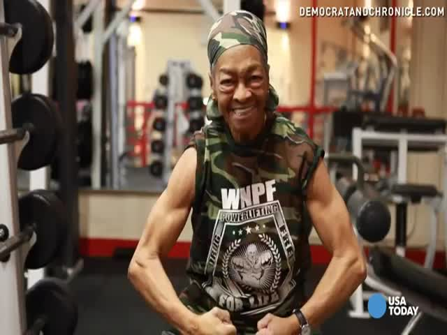 Chances Are This 77-Year-Old Grandma Is More Ripped Than You