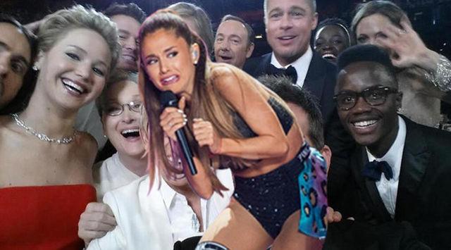 Ariana Grande's Priceless Cringing Face