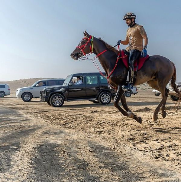 Dubai's Crown Prince Has a Fun-filled Adventurous Lifestyle
