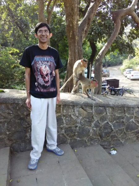 Monkeys Make One Guy's Photo Truly Memorable