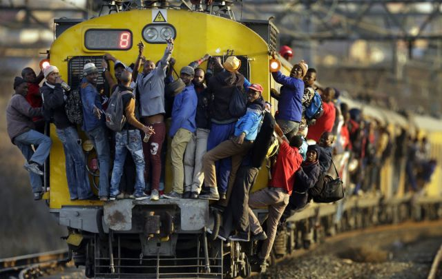 Some Commuters Have a Really Tough Life