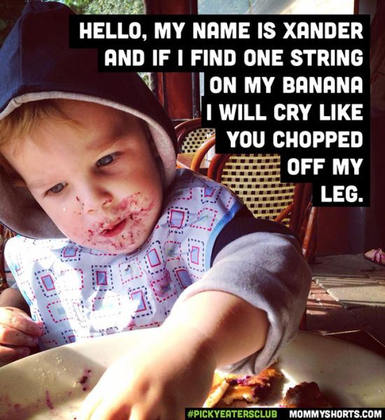 Moms Reveal the Funniest Food Habits of Their Kids Who Are Picky Eaters