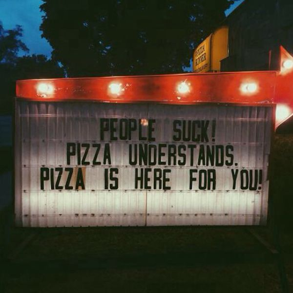 Pizza Can Easily Rule the World