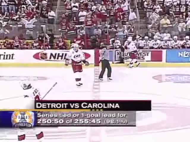 Hockey Player's Perfect Response to a Female Heckler