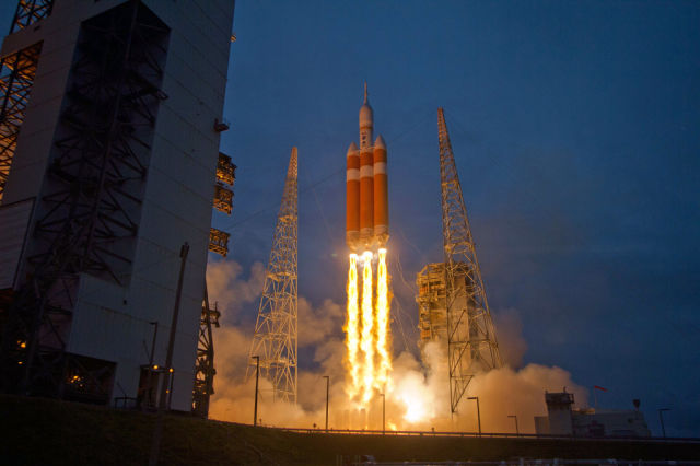 Photographs Taken at NASA's Orion Launch
