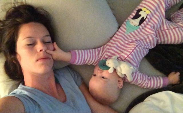 This Is Why Co-Sleeping with a Baby Is Mission Impossible