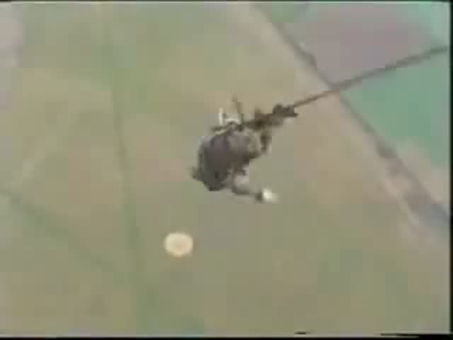 That Moment When It Goes Wrong with Your Parachute