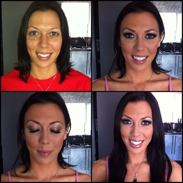 Makeup Makeovers of Popular Porn Stars