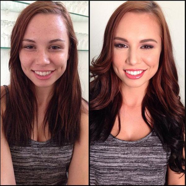 Makeup Makeovers of Popular Porn Stars