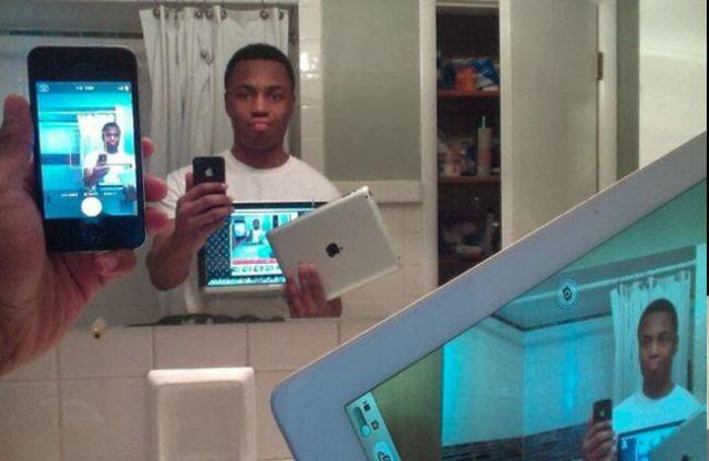 We Live in a Selfie Crazed World