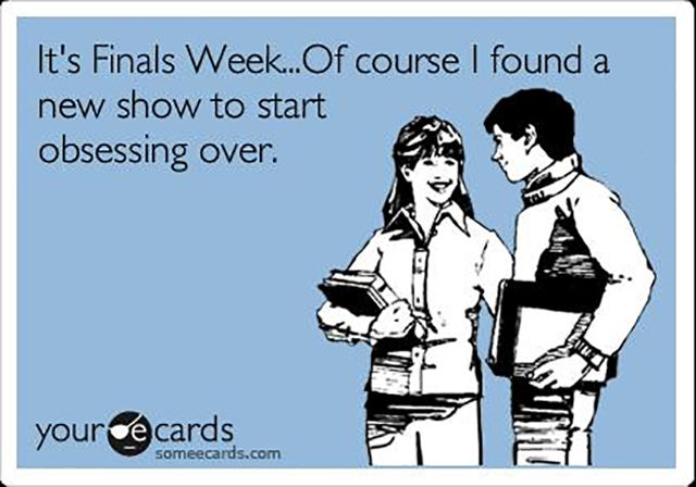 Amusing Truths about Finals Week