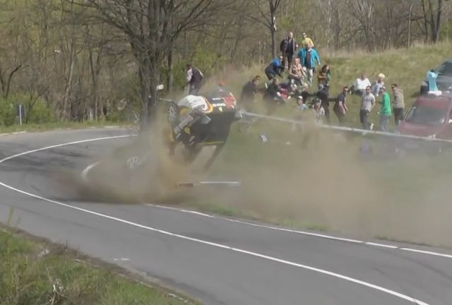 The Best Rally Crashes of the Year 2014