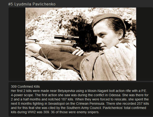 The Most Lethal Trained Snipers Throughout History