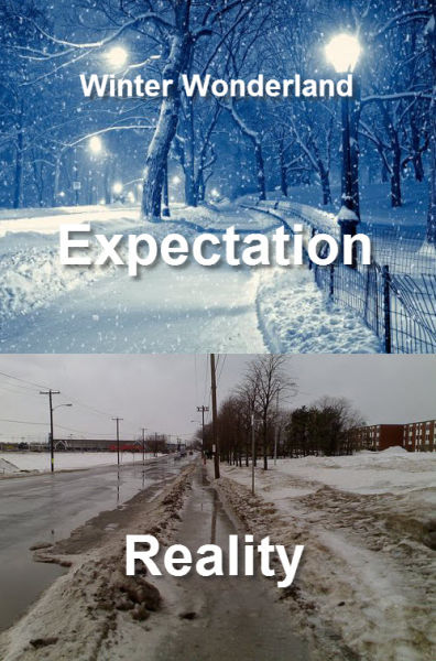 Why Expectations Let Us Down Every Time