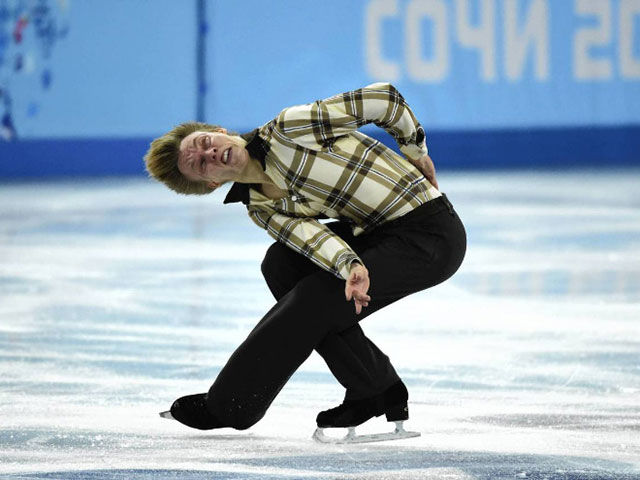 Unflattering Figure Skating Faces Caught on Camera