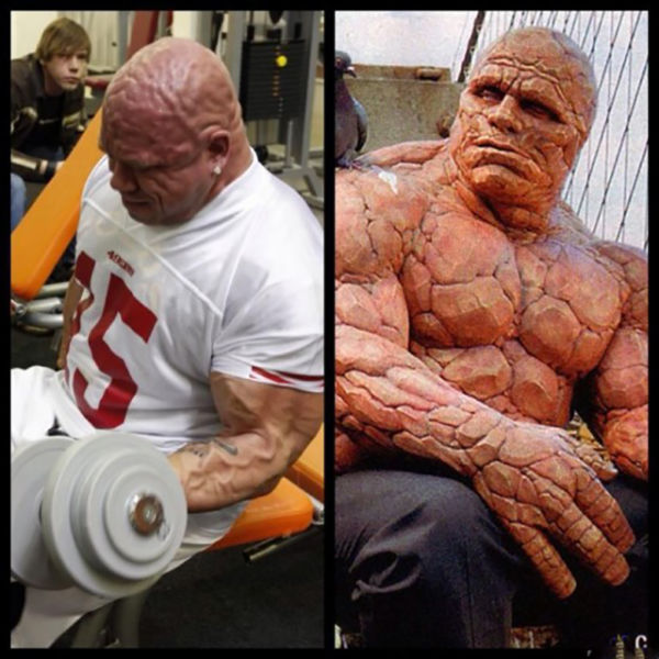 "A Real Life Fantastic Four's ""The Thing"""