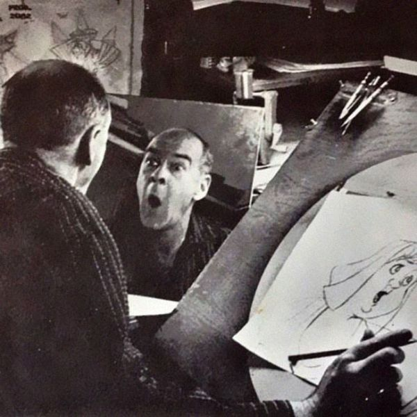 Cartoon Animators Use Themselves for Inspiration