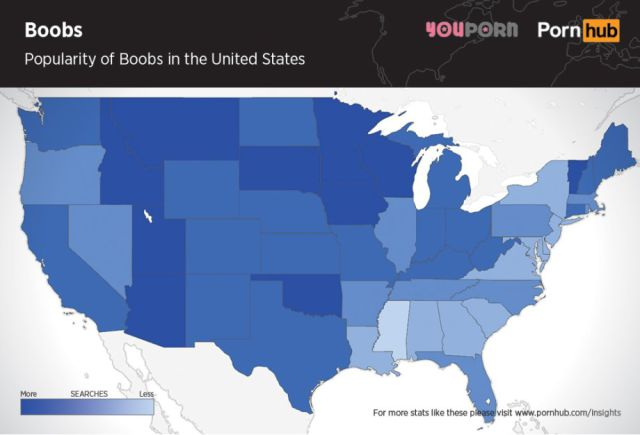 Do Men Really Prefer Boobs or Butts in the USA?