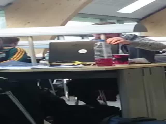 Library Prank during Exam Week