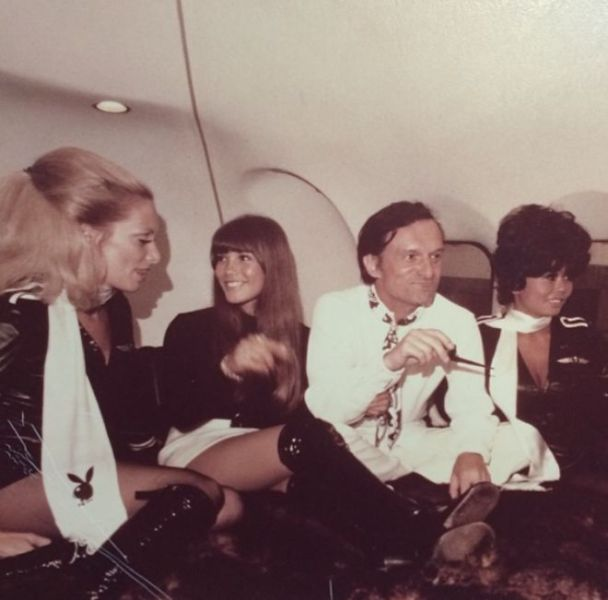 Hugh Hefner Is One Cool Dude