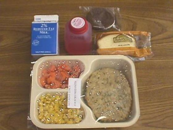 Maricopa County Jail Food Menu