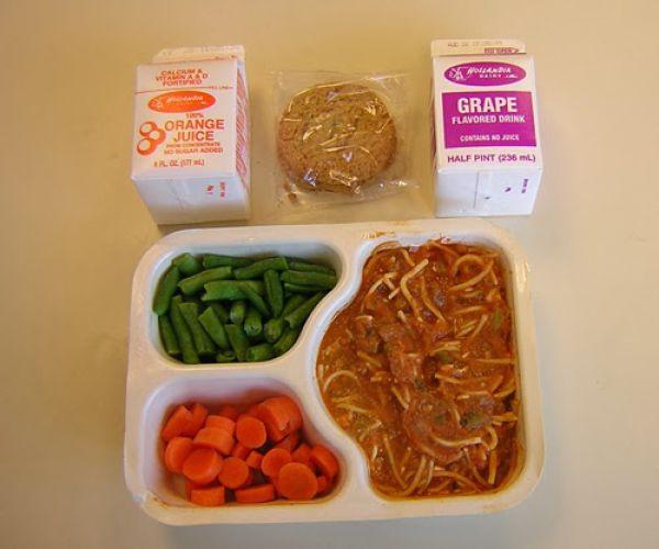 Prison Food vs. School Lunches