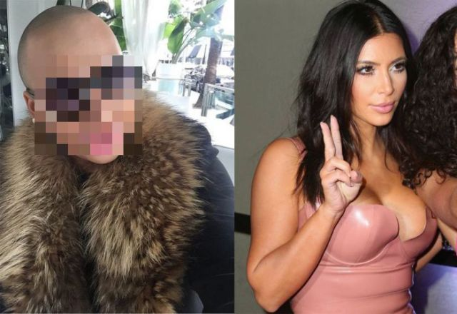Random Dude Spends Thousands to Look Like Kim Kardashian