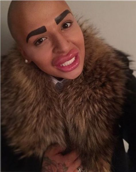 Random Dude Spends Thousands to Look Like Kim Kardashian