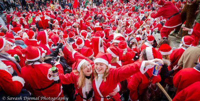 SantaCon Craziness Kicks off Its Drunken Festivities