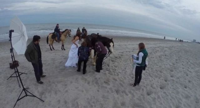 A Bad Idea for a Wedding Photoshoot