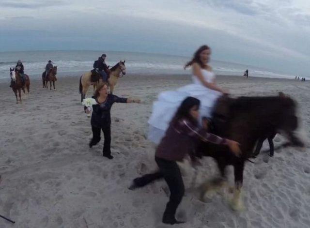 A Bad Idea for a Wedding Photoshoot