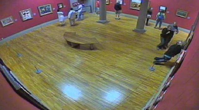 Man Serves Jail Time for His Weird Behavior Towards a Piece of Art
