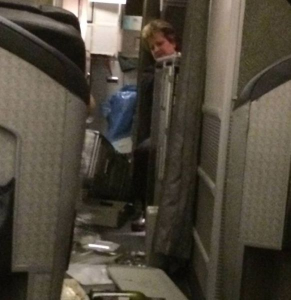 Turbulence Causes Chaos on American Airlines Flight