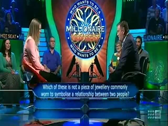 Australia's Dumbest 'Who Wants to Be a Millionaire' Contestant  (VIDEO)