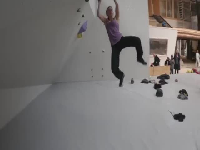 Insane Climbing Training