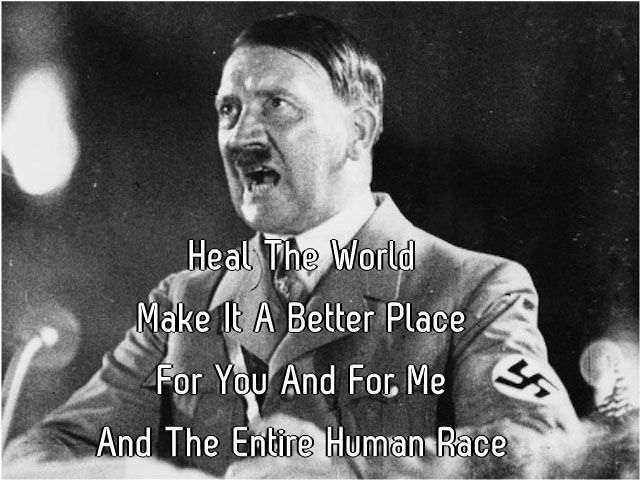 Hitler Ruins Your Favorite Song Lyrics