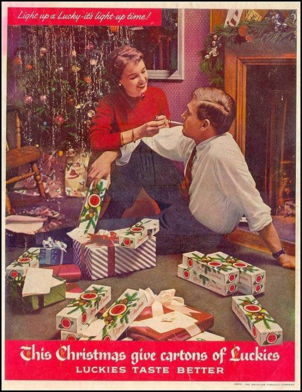 Old School Christmas Advertising