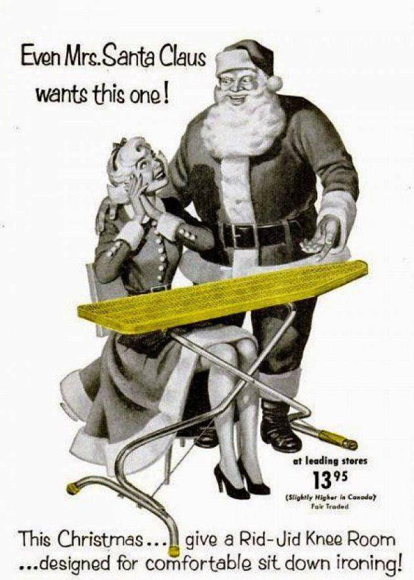 Old School Christmas Advertising