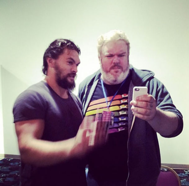 "The ""Game of Thrones"" Cast Being Normal in Everyday Life"